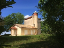 The chateau Bellevue de Foret