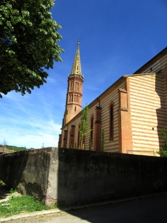 Gristles stripey church