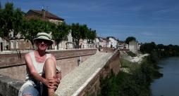 Lesley by the Garonne