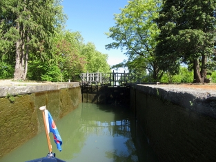 Lespinasse lock emptying