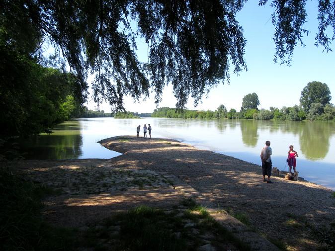 Mas-d'Agenais 'beach'