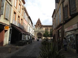 Looking towards the Abbey