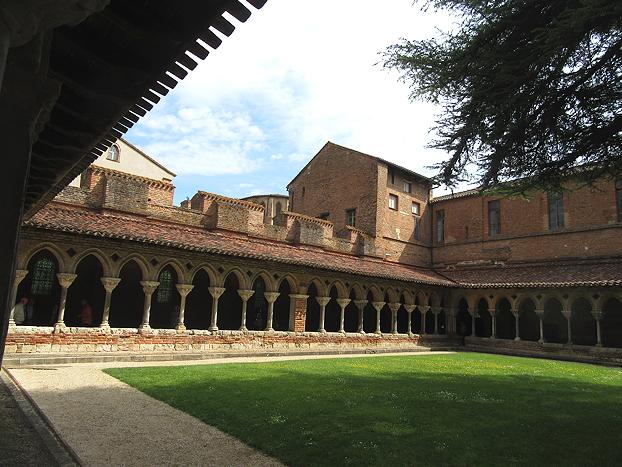 Abbey cloisters