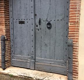 Moissac door