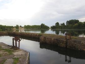 Old lock on Tarn Moissac