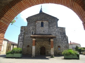 Serignac church