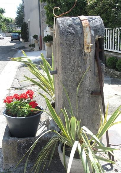 Old village pump