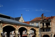Roof lines around the market place