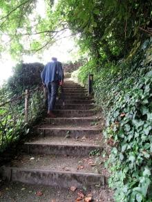 Meilhan-sur-Garonne, stairs 3