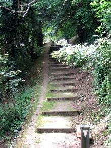 Meilhan-sur-Garonne, stairs