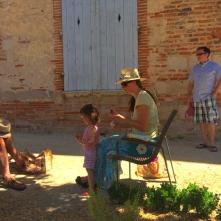 Shady Abbot's garden picnic