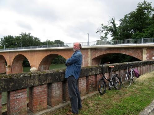 Surveying Reynies bridge