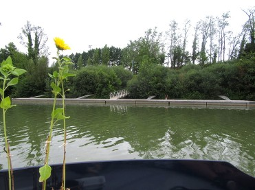 The Corbarieu pontoon