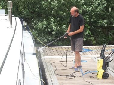 Montauban port jet wash