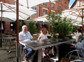 Montauban with Ron and Pauline