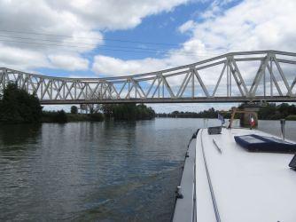 The rail bridge