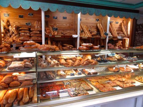 Moissac, boulangerie