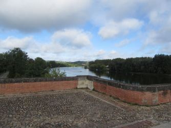 Final time over Tarn on Moissac aqueduct
