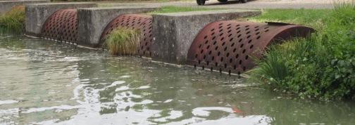 water slope sluice