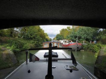 Leaving Canal de Garonne