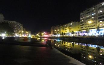 Port Saveur at night