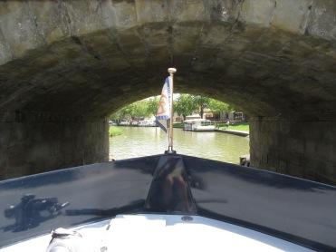Under Carcassonne bridge