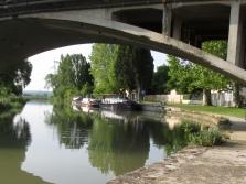 Calliope through La Redorte bridge