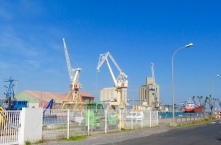 The commercial port