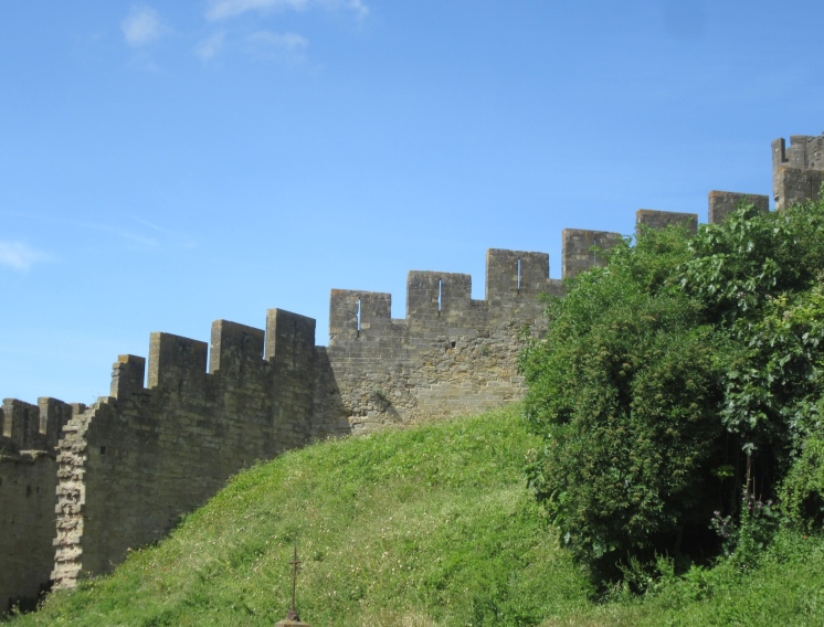 View of the battlements