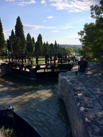 Top of Fonseranes locks