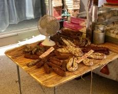Saucisson stall