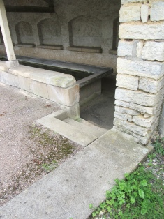 Steps into Foulain lavoir