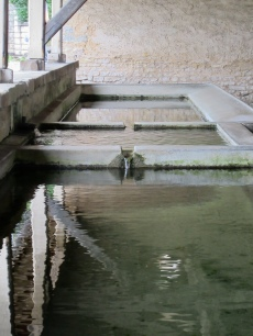 The 3 basins of Foulain lavoir