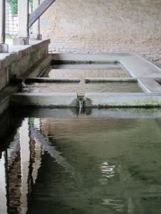 The 3 basins of Foulain lavoir