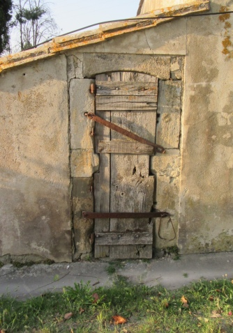 Door with character