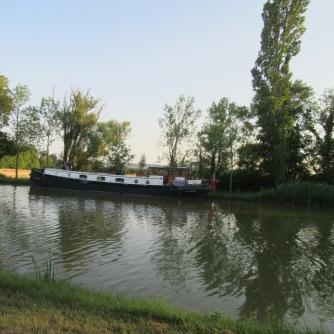 Calliope peacefully moored