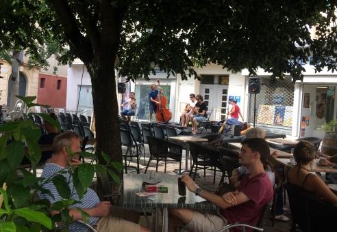Musical square in Arles
