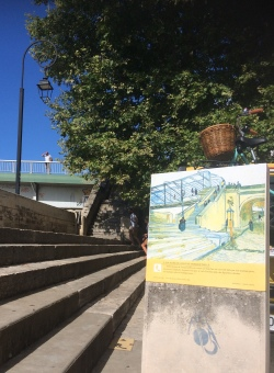 Part of the Van Gogh trail
