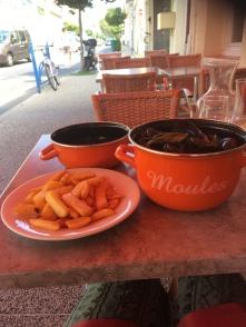 Moules frites, yum yum