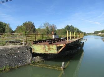 old railway swing bridge