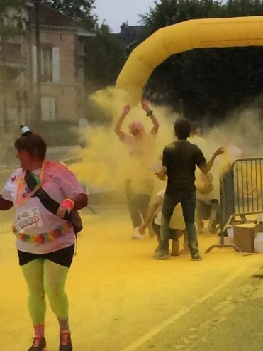 Yellow break through