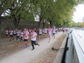 Running past Calliope